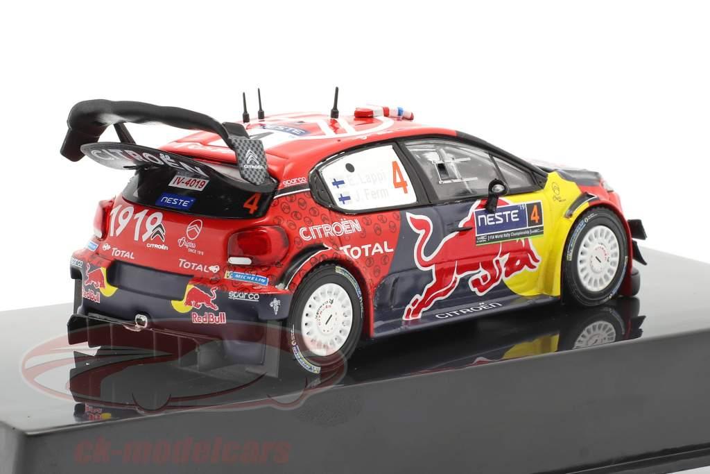 Citroen C3 WRC #4 2e Rallye Finland 2019 Lappi, Ferm 1:43 Ixo