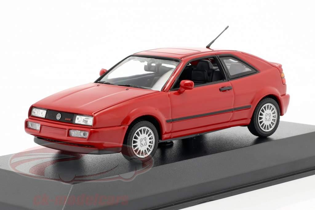 Volkswagen VW Corrado G60 Anno di costruzione 1990 rosso 1:43 Minichamps