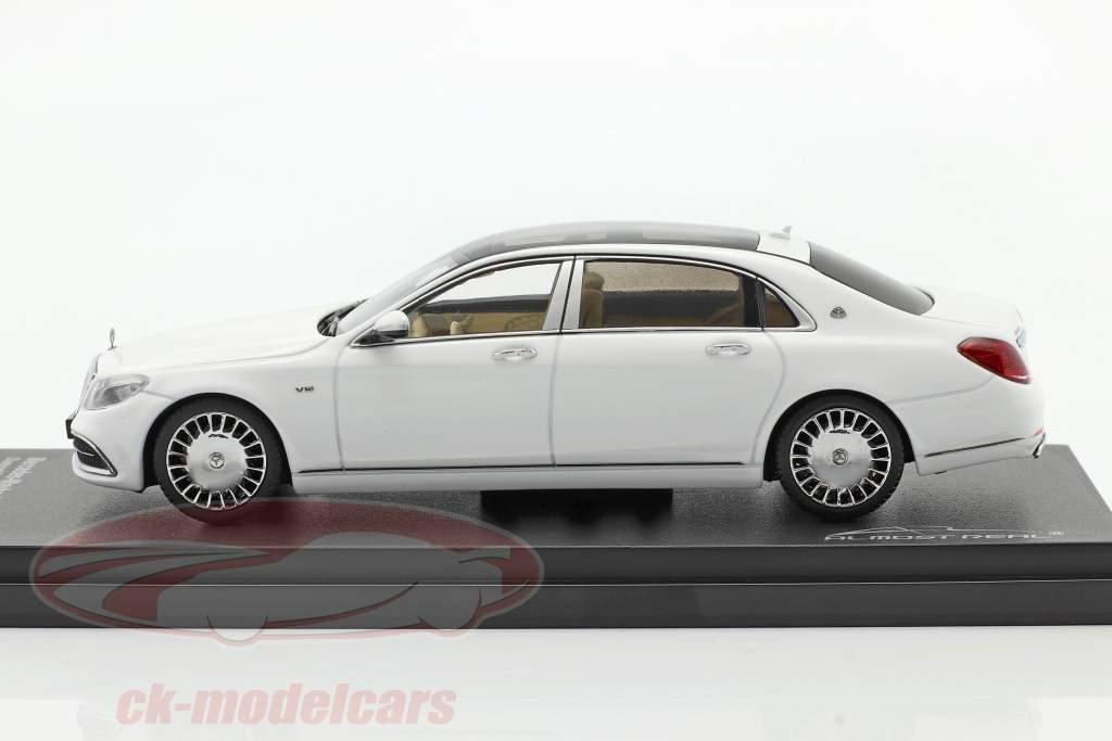 Mercedes-Maybach Clase S Año de construcción 2019 diamante Blanco 1:43 Almost Real