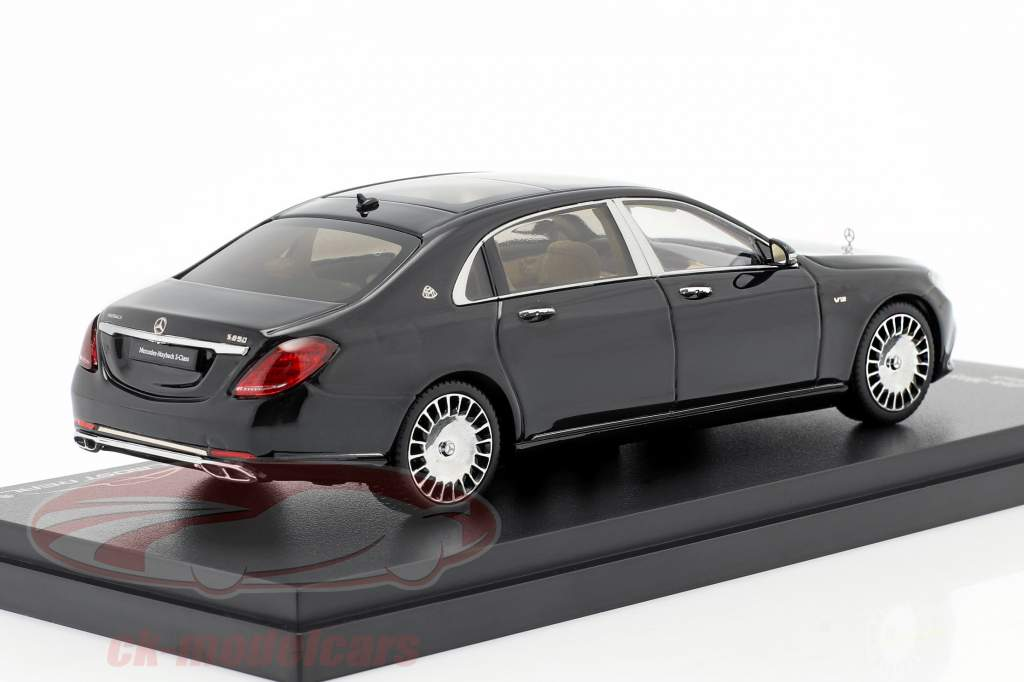 Mercedes-Maybach S klasse 2019 obsidian sort 1:43 Almost Real