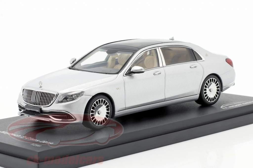 Mercedes-Maybach Clase S 2019 iridium plata 1:43 Almost Real