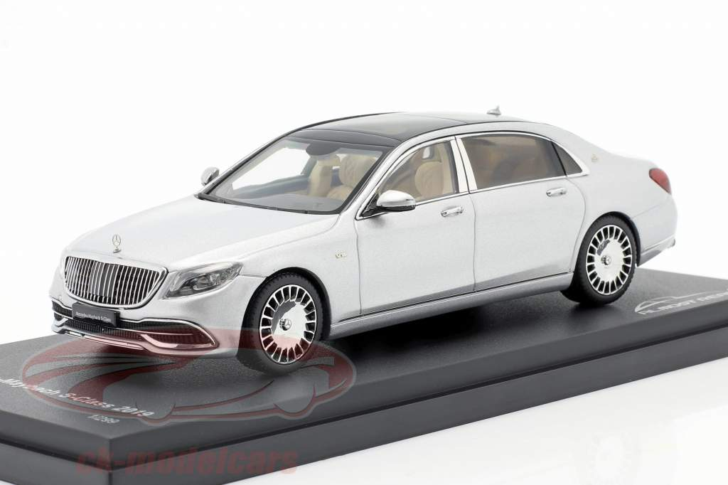 Mercedes-Maybach Classe S. 2019 iridium argento 1:43 Almost Real