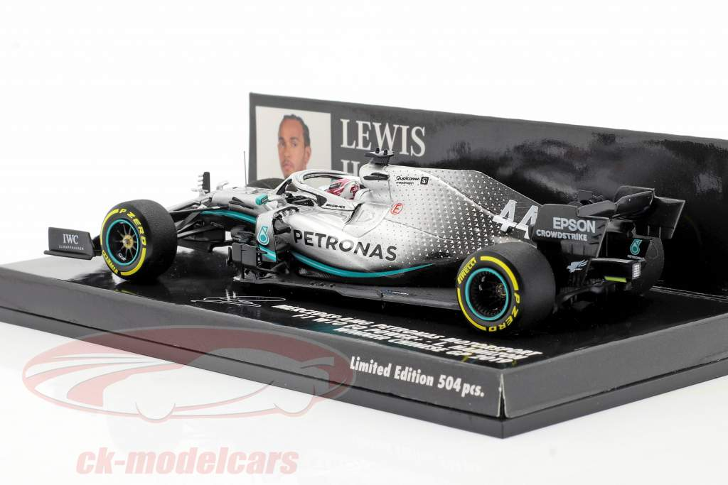 L. Hamilton Mercedes-AMG F1 W10 #44 China GP World Champion F1 2019 1:43 Minichamps