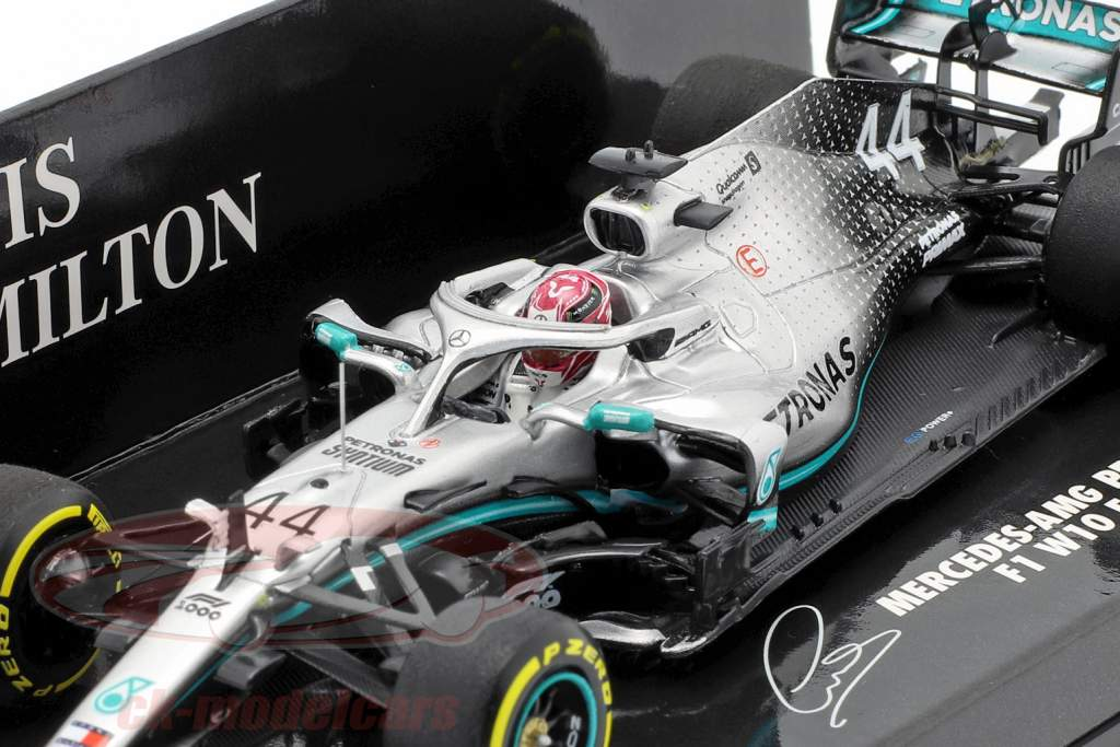 L. Hamilton Mercedes-AMG F1 W10 #44 Kina GP Verdensmester F1 2019 1:43 Minichamps