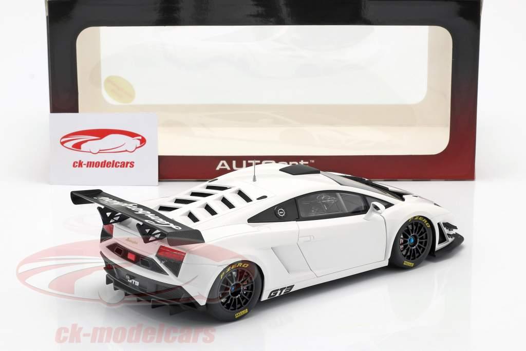 Lamborghini Gallardo GT3 FL2 Año 2013 blanco 1:18 AUTOart