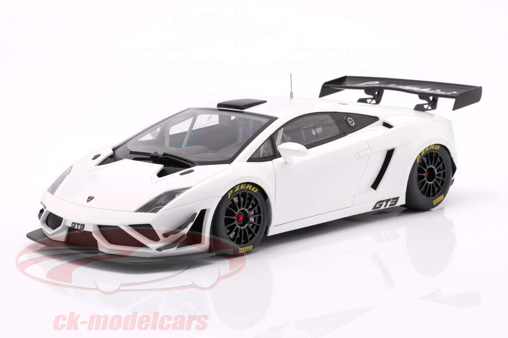 Lamborghini Gallardo GT3 FL2 Année 2013 blanc 1:18 AUTOart