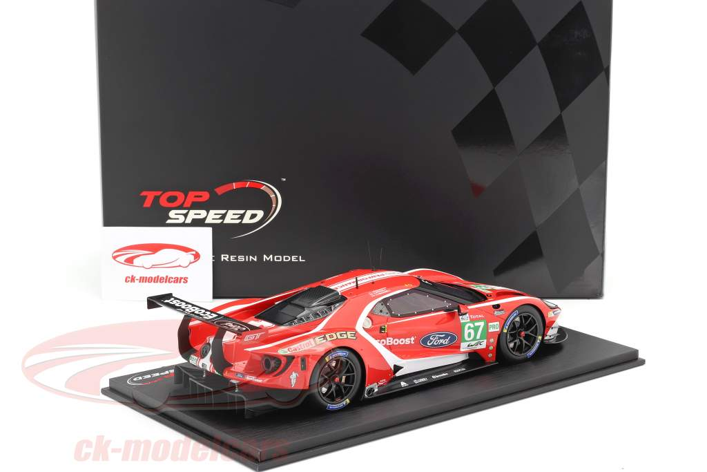 Ford GT #67 24h LeMans 2019 Tincknell, Priaulx, Bomarito 1:18 TrueScale
