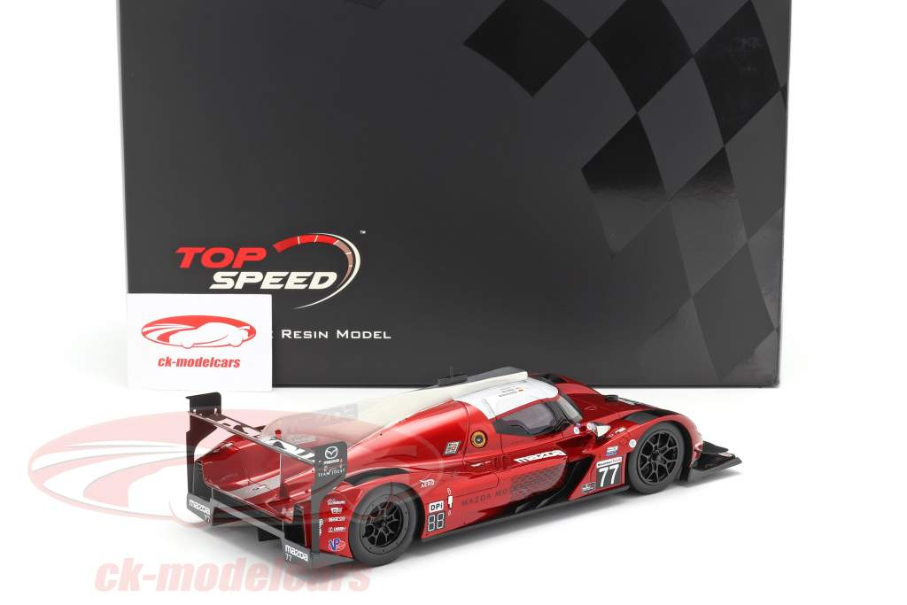 Mazda RT-24P #77 Winner Mobil 1 SportsCar GP IMSA 2019 Team Joest 1:18 TrueScale
