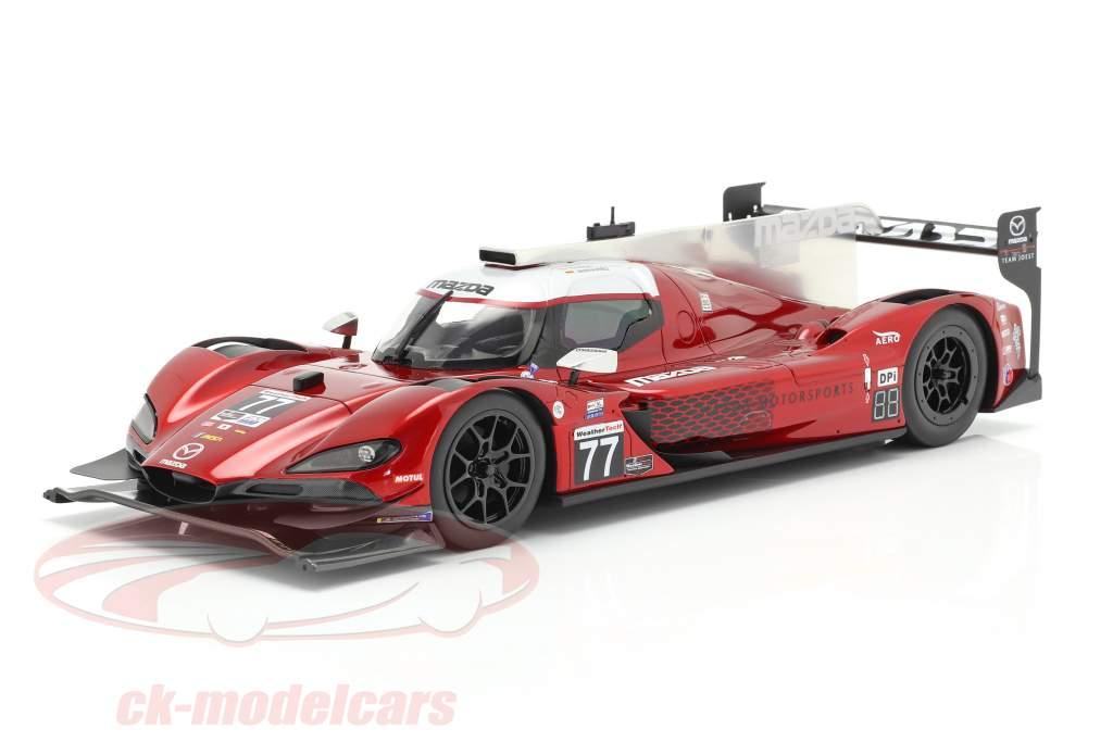 Mazda RT-24P #77 Vinder Mobil 1 SportsCar GP IMSA 2019 Team Joest 1:18 TrueScale