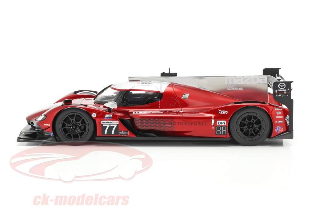 Mazda RT-24P #77 Vencedora Mobil 1 SportsCar GP IMSA 2019 Team Joest 1:18 TrueScale