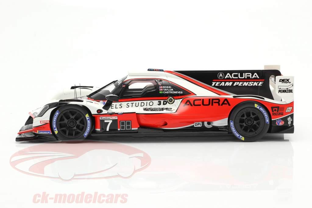 Acura DPi ARX-05 #7 3. 24h Daytona 2019 Acura Team Penske 1:18 TrueScale