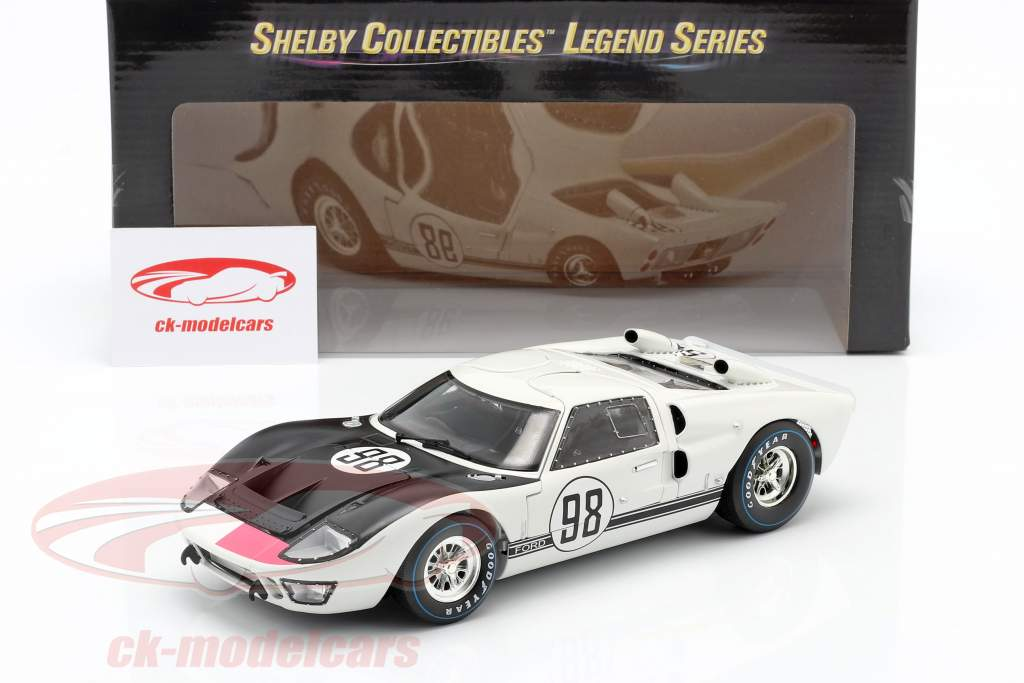 Ford GT40 MK II #98 Gagnant 24h Daytona 1966 Miles, Ruby 1:18 ShelbyCollectibles