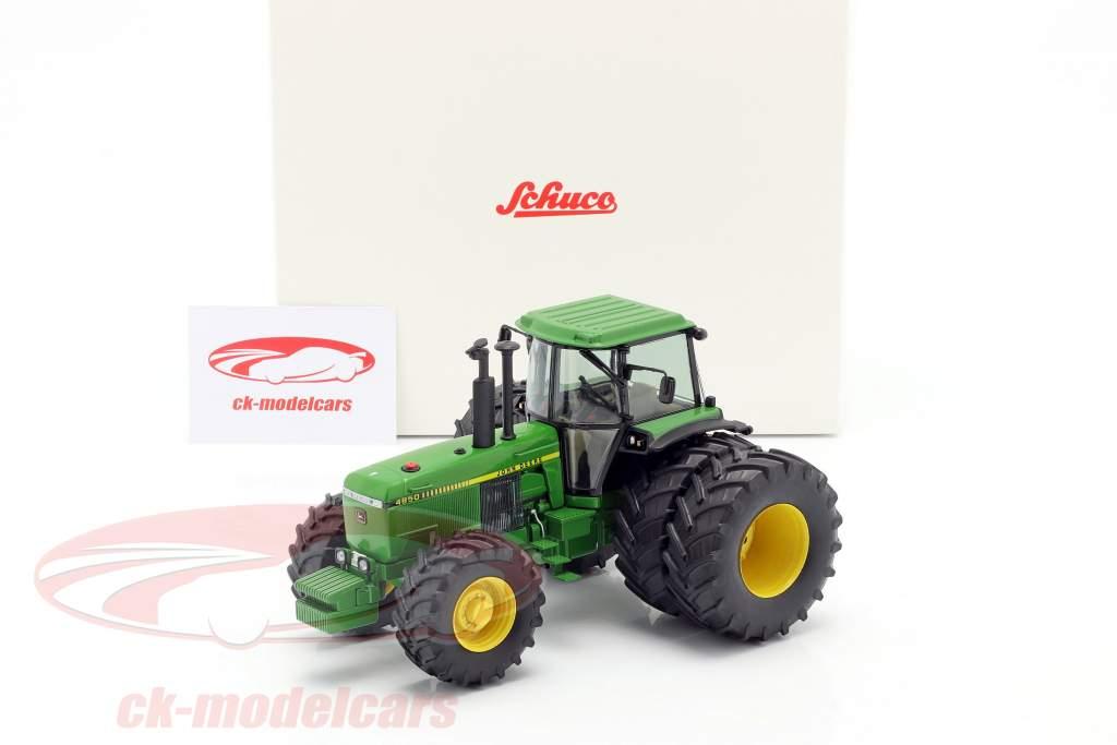 John Deere 4850 traktor Byggeår 1983-1988 grøn 1:32 Schuco