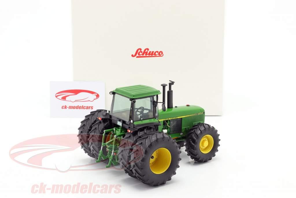 John Deere 4850 Traktor Baujahr 1983-1988 grün 1:32 Schuco