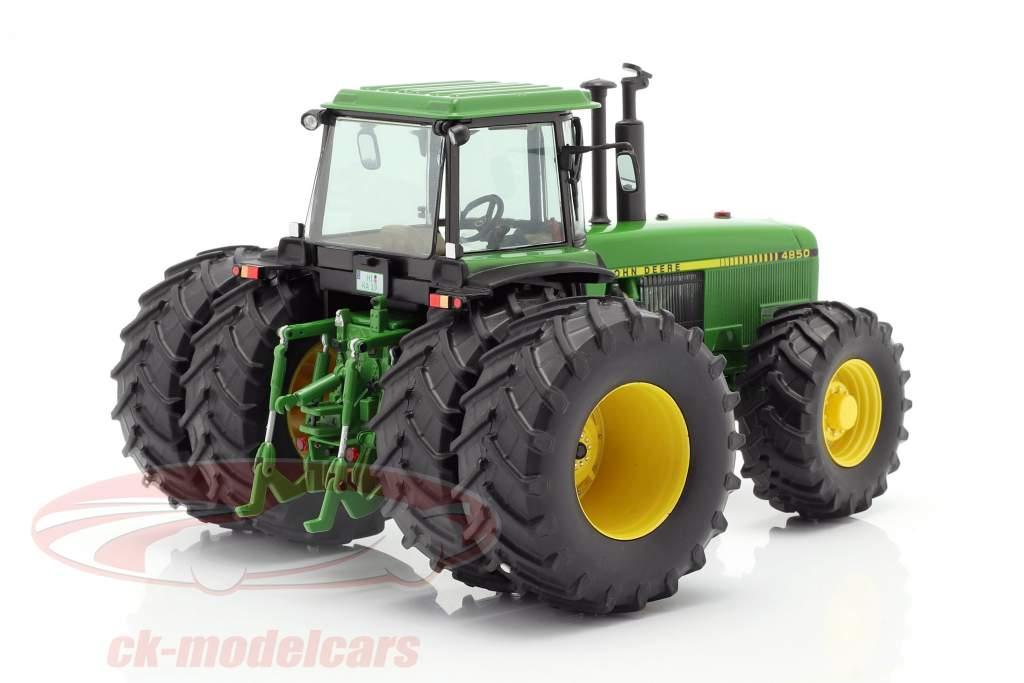John Deere 4850 tracteur Année de construction 1983-1988 vert 1:32 Schuco