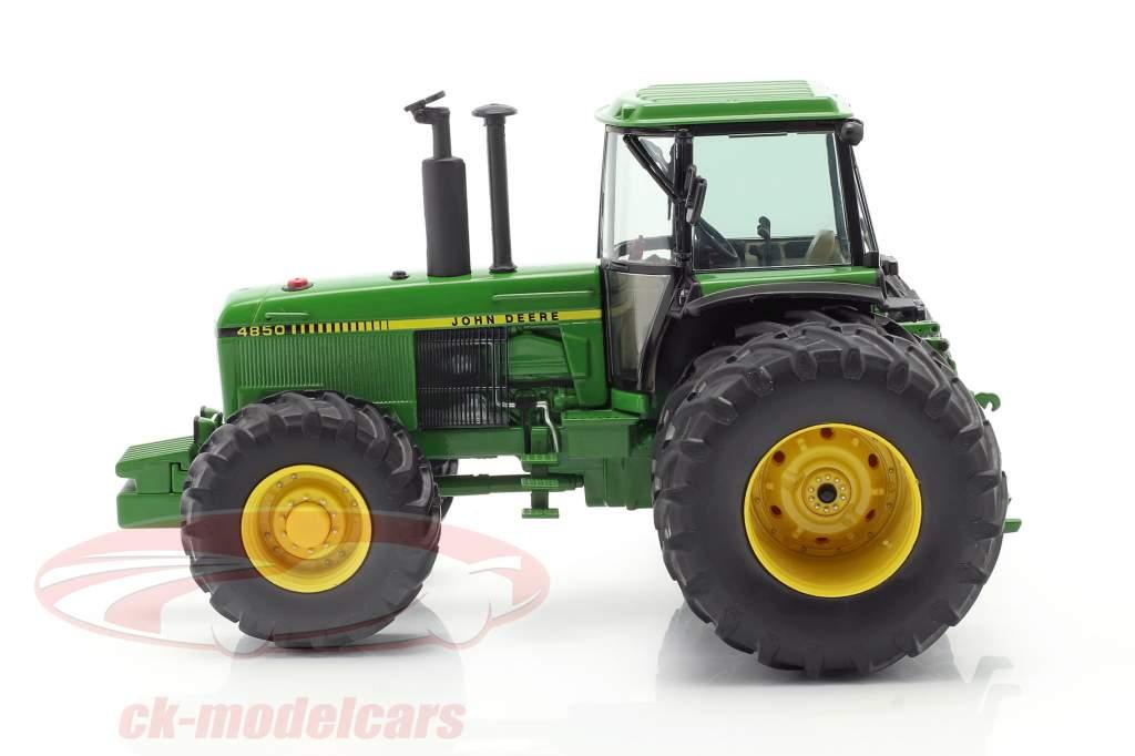 John Deere 4850 拖拉机 建设年份 1983-1988 绿色 1:32 Schuco