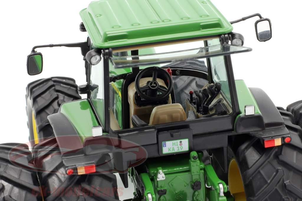 John Deere 4850 tractor Año de construcción 1983-1988 verde 1:32 Schuco