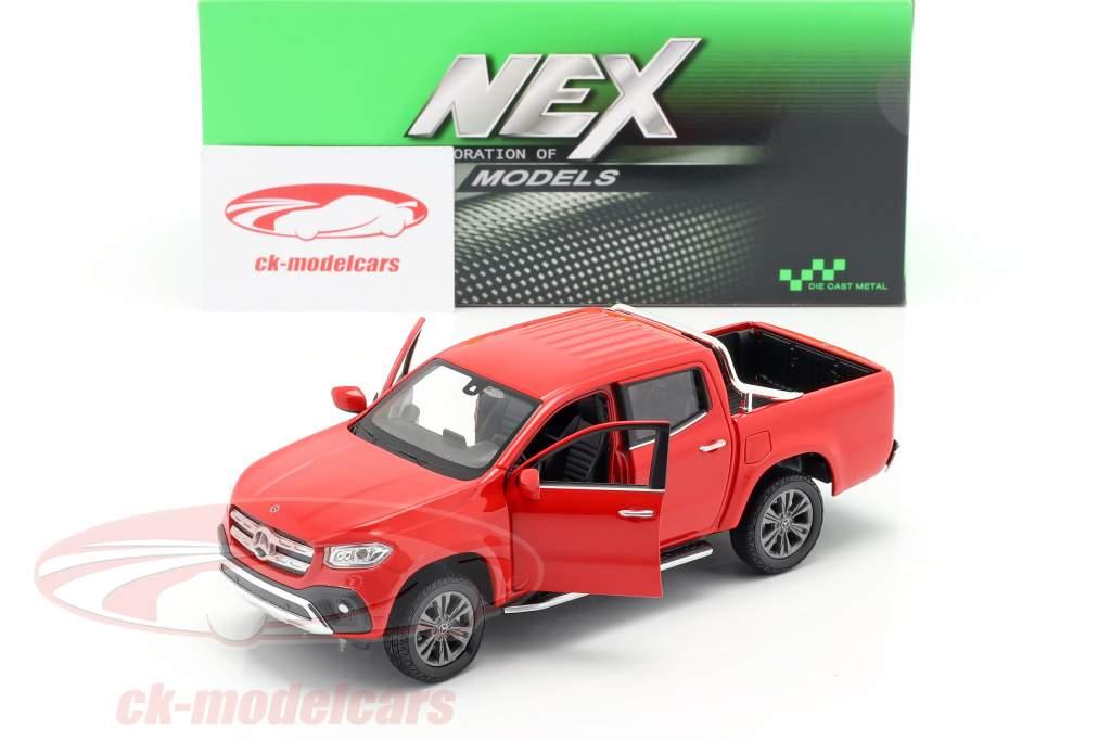 Mercedes-Benz Clase X Año de construcción 2018 rojo 1:24 Welly