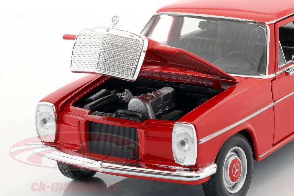 Mercedes-Benz 220/8 (W115) rot 1:24 Welly