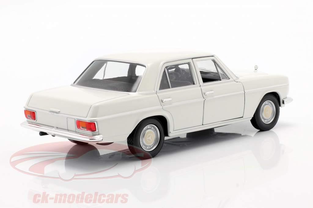 Mercedes-Benz 220/8 (W115) crema Blanco 1:24 Welly