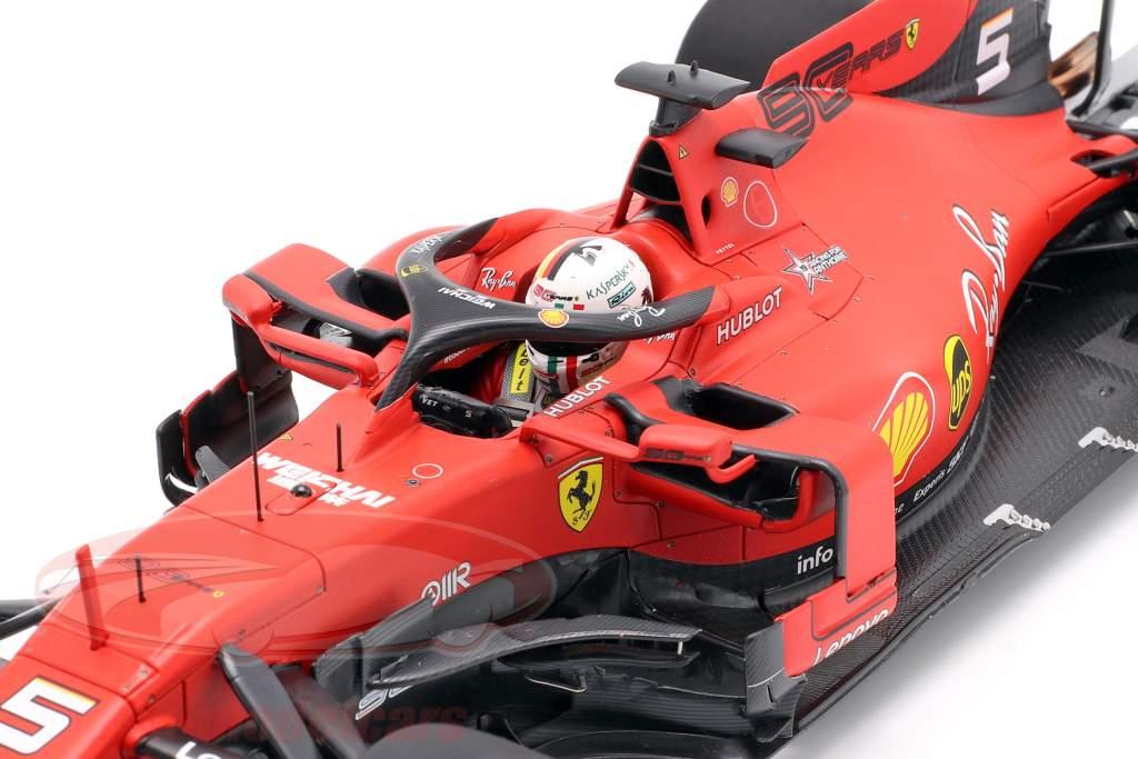 Sebastian Vettel Ferrari SF90 #5 italiano GP formula 1 2019 1:18 BBR