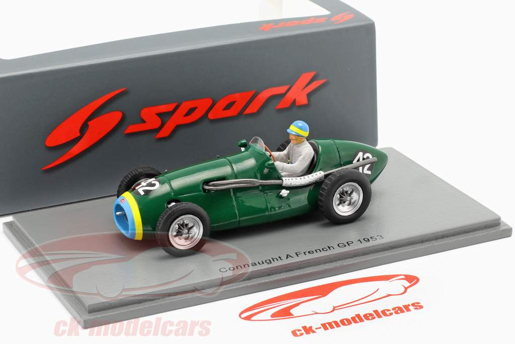 Prince Bira Connaught A #42 French GP formula 1 1953 1:43 Spark
