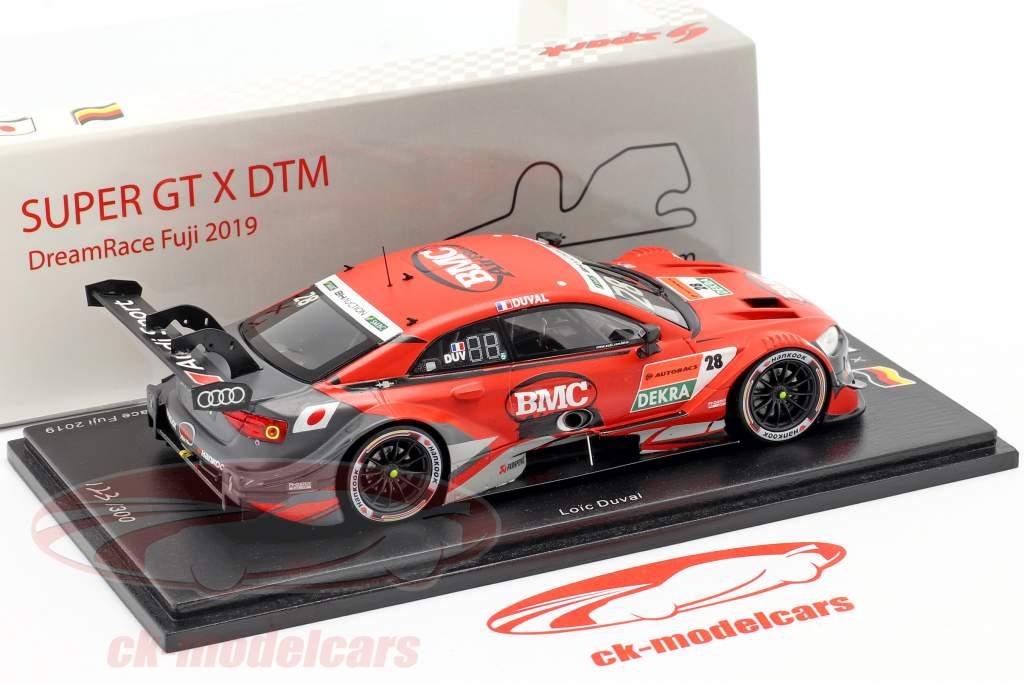 Audi RS 5 DTM #28 Pole Position Super GT & DreamRace Fuji 2019 Duval 1:43 Spark