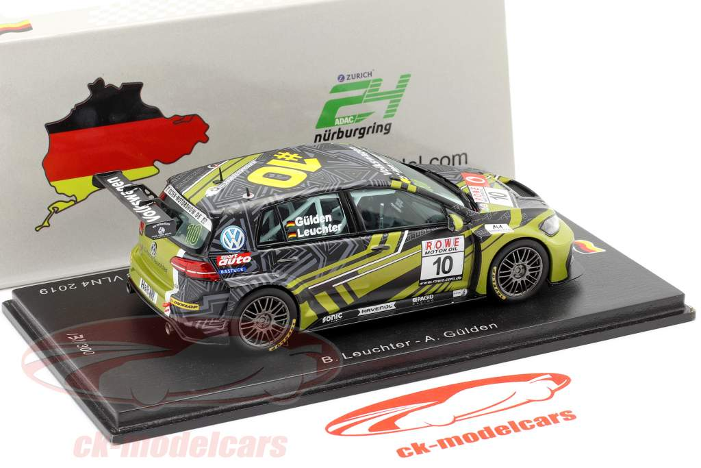 Volkswagen VW Golf GTI TCR #10 winner TCR class VLN4 2019 1:43 Spark