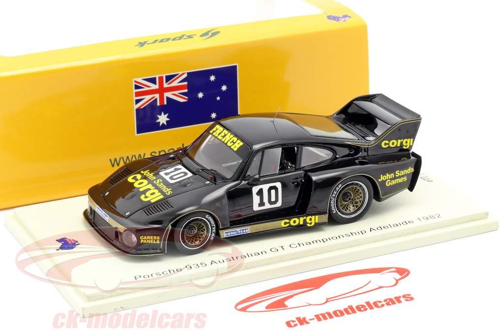 Porsche 935 #10 australien GT Championnat Adelaide 1982 1:43 Spark
