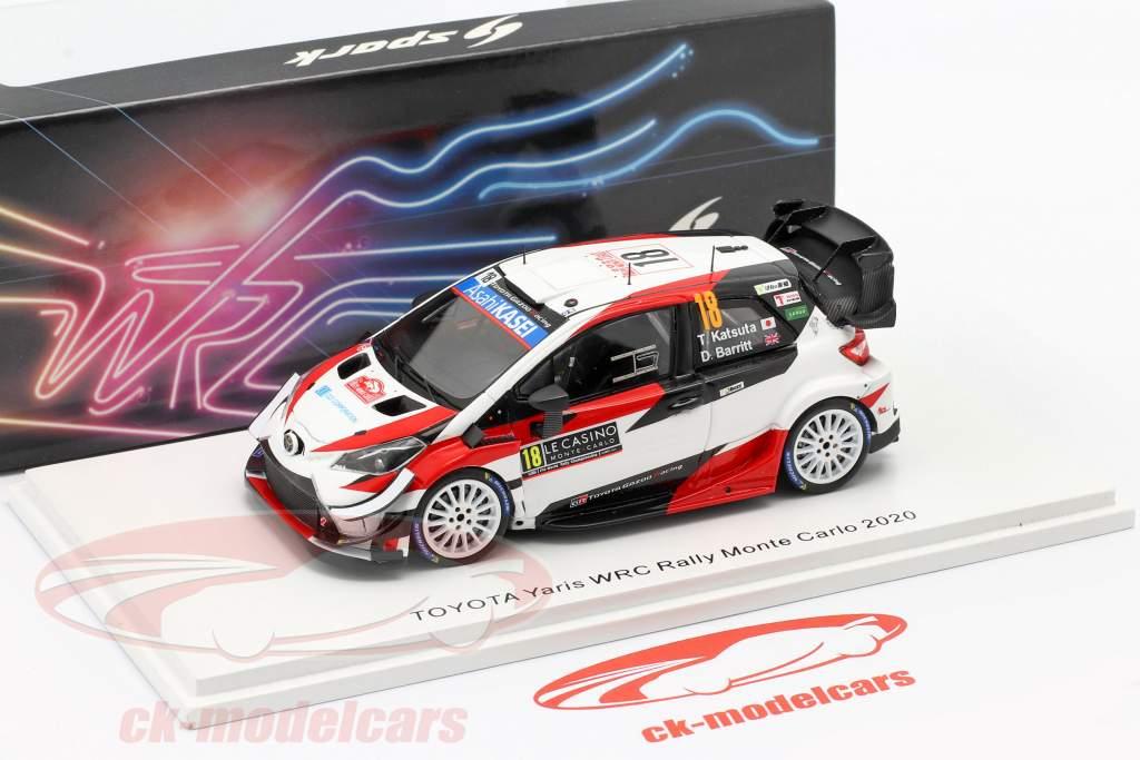 Toyota Yaris WRC #18 7 ° Rallye Monte Carlo 2020 Katsuta, Barritt 1:43 Spark