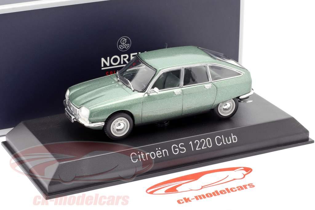 Citroen GS 1200 Club Anno di costruzione 1973 verde metallico 1:43 Norev