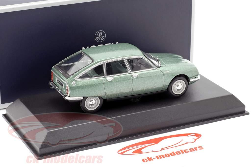Citroen GS 1200 Club Byggeår 1973 grøn metallisk 1:43 Norev