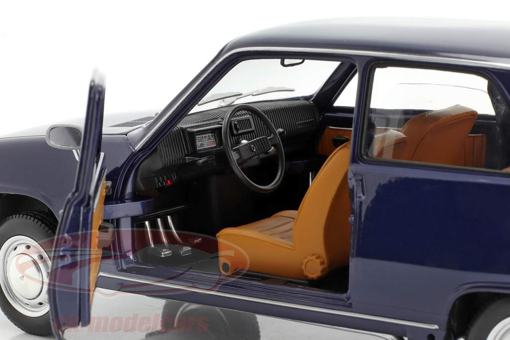 Renault 5 Baujahr 1973 dunkelblau 1:18 Norev