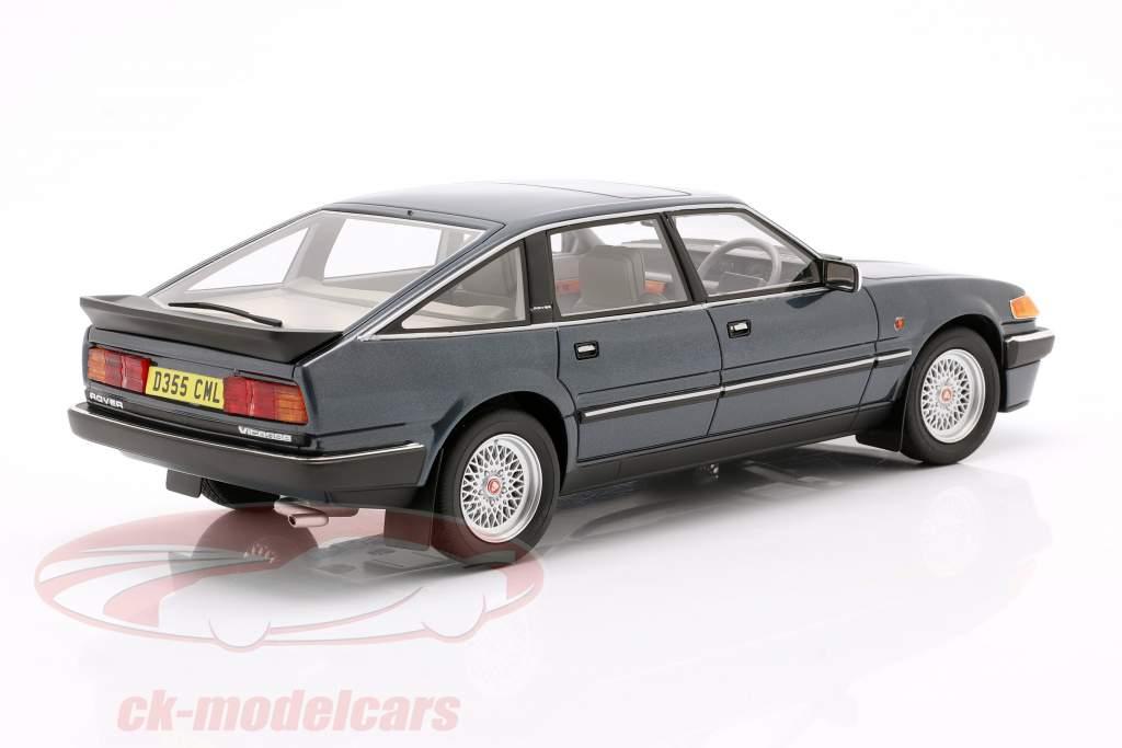 Rover 3500 Vitesse Byggeår 1985 blå metallisk 1:18 Cult Scale