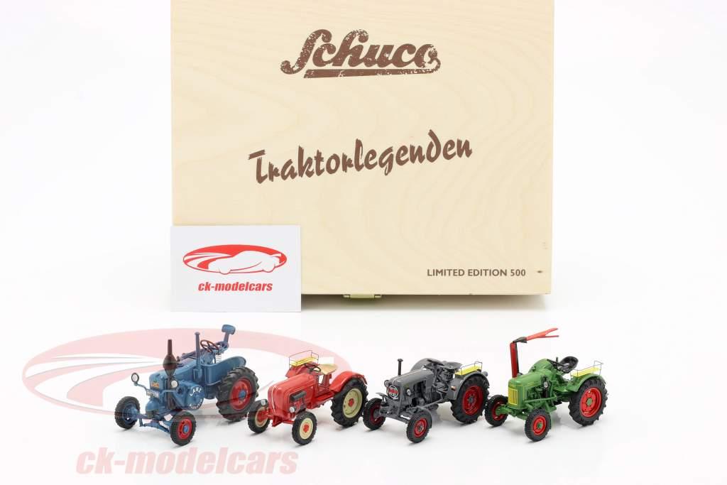 4-Car Set Traktorlegenden 1:43 Schuco