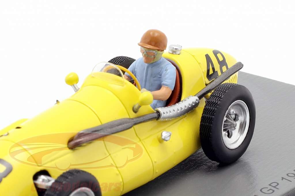 Johnny Claes Connaught A #48 Frans GP formule 1 1953 1:43 Spark