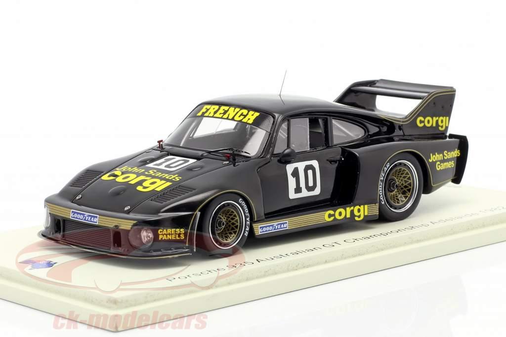 Porsche 935 #10 australiano GT Campeonato Adelaide 1982 1:43 Spark