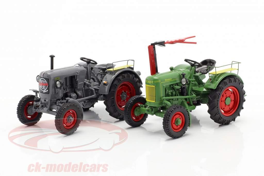 4-Car Set Tractor legends 1:43 Schuco