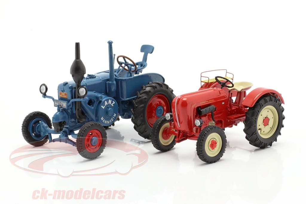 4-Car Set Tractor legendes 1:43 Schuco