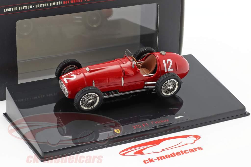 Gonzales Ferrari 375 F1 1st Ferrari Victory Formel 1 1951 1:43 HW Elite