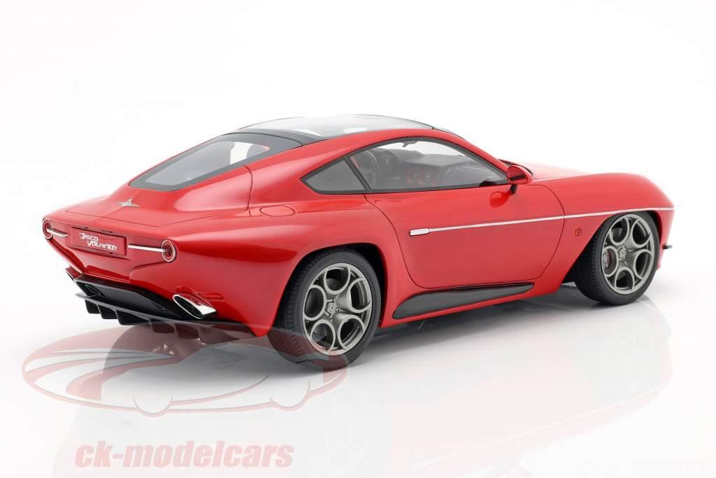 Alfa Romeo Disco Volante by Touring 2013 rosso metallico 1:18 Cult Scale