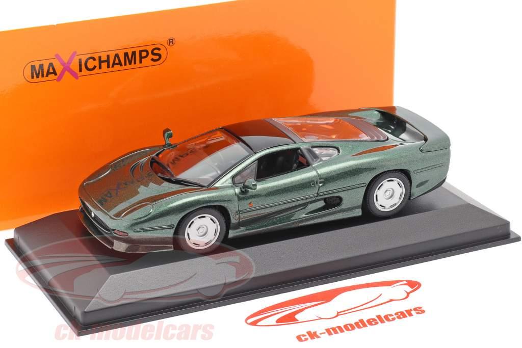 Jaguar XJ220 Anno di costruzione 1991 verde scuro metallico 1:43 Minichamps