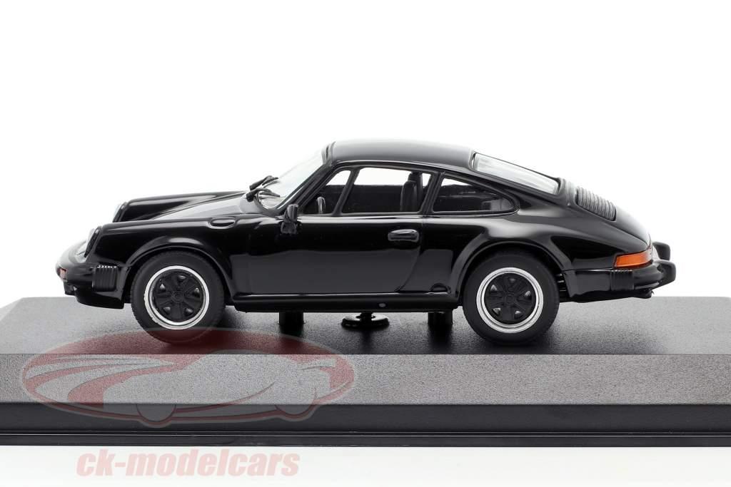 Porsche 911 SC Coupe Année de construction 1979 noir 1:43 Minichamps