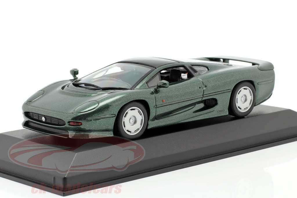 Jaguar XJ220 Año de construcción 1991 verde oscuro metálico 1:43 Minichamps
