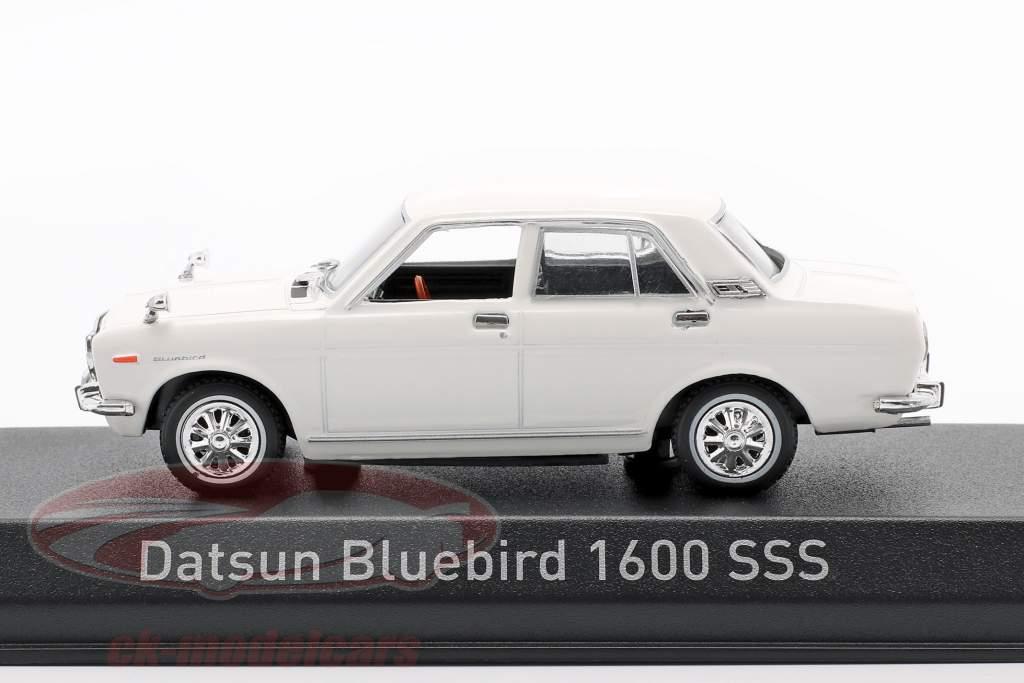 Datsun Bluebird 1600 SSS Bouwjaar 1969 Wit 1:43 Norev