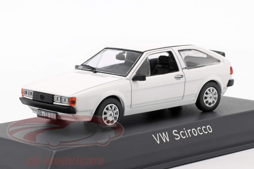 Volkswagen VW Scirocco II Anno di costruzione 1981 bianca 1:43 Norev