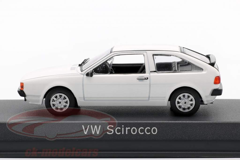 Volkswagen VW Scirocco II Año de construcción 1981 Blanco 1:43 Norev