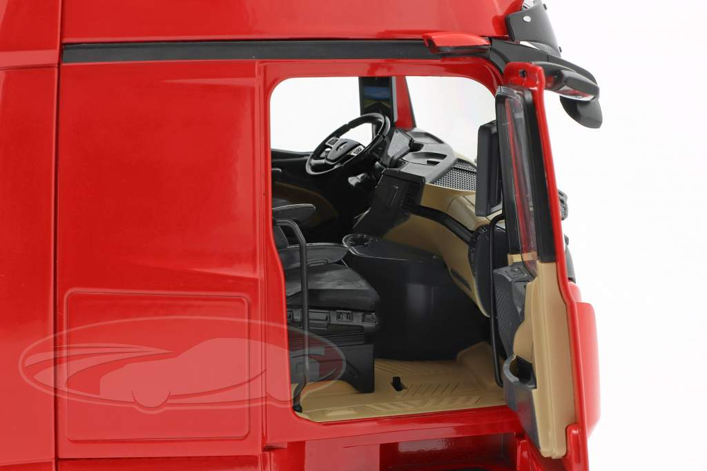 Mercedes-Benz Actros Gigaspace 4x2 Camion Facelift 2018 rosso 1:18 NZG
