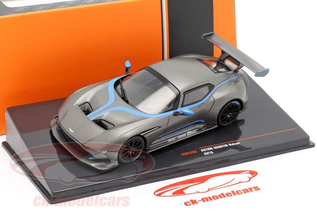 Aston Martin Vulcan year 2015 mat grey metallic 1:43 Ixo
