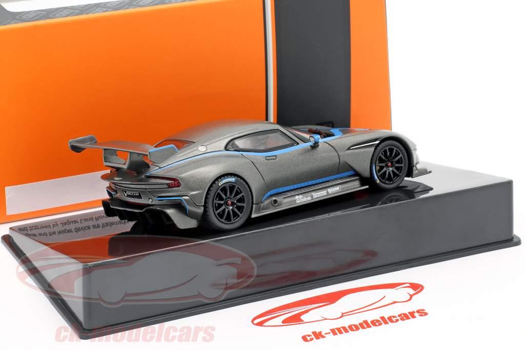 Aston Martin Vulcan Ano de construção 2015 esteira cinzento metálico 1:43 Ixo